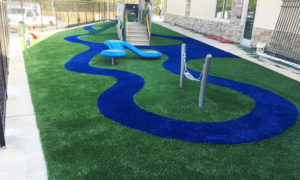 Playground Synthetic Turf Grass